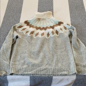 J Crew fair aisle sweater M great condition